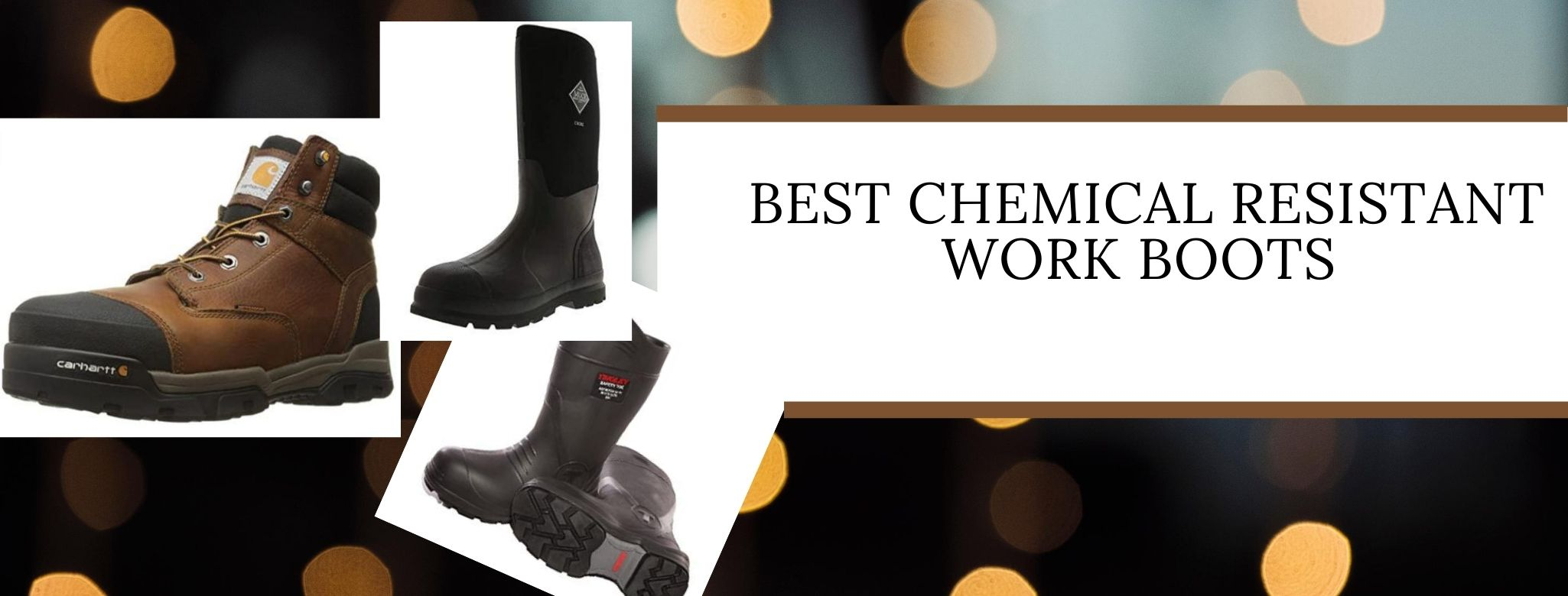 Best work boots to resist chemicals