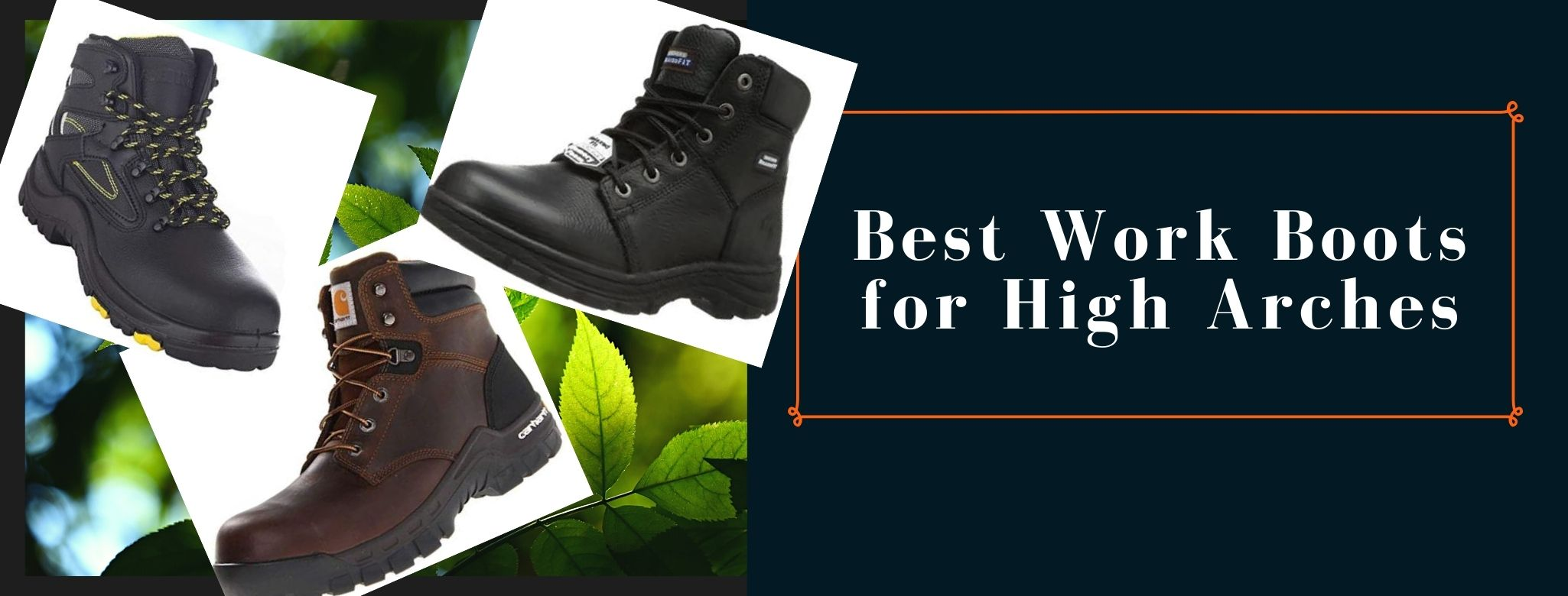 Top-rated boots for high-arched people