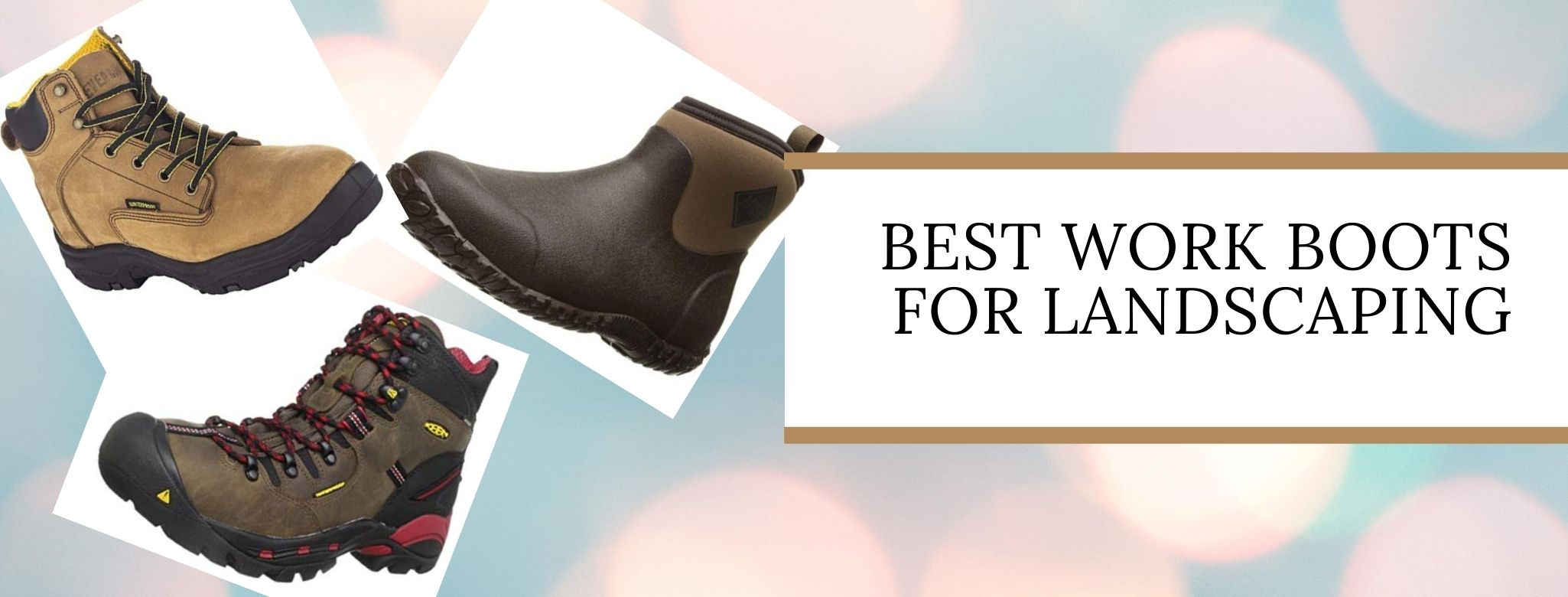 Top-rated work boots