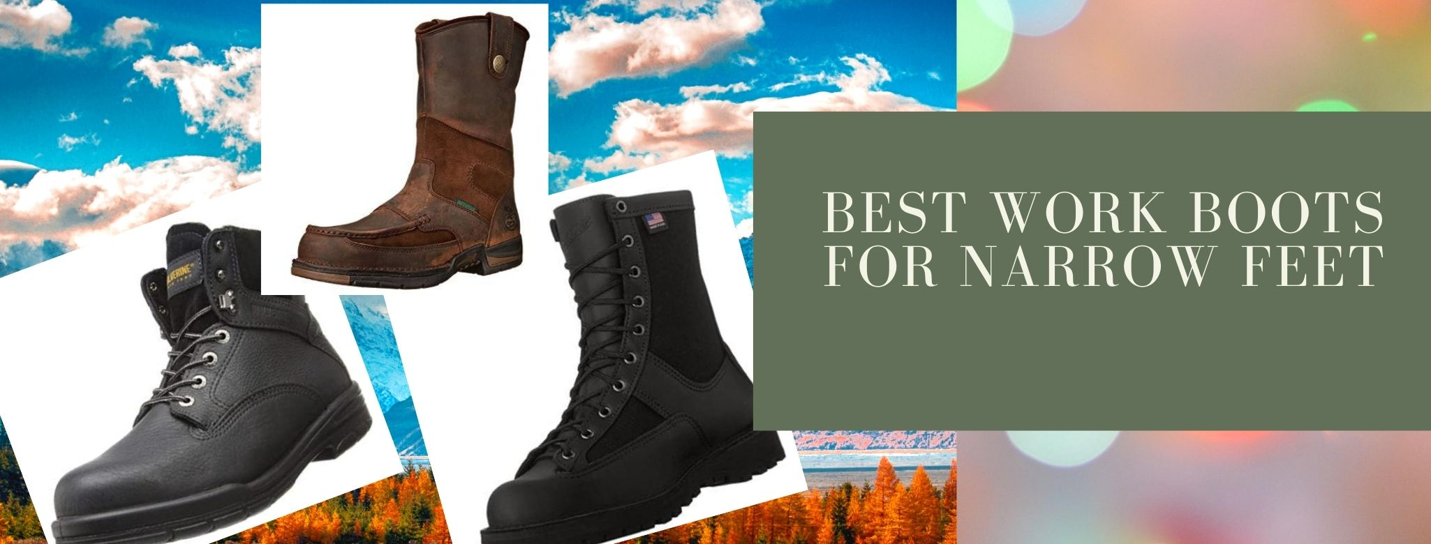 Comfortable boots for narrow feet