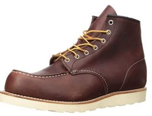 Red Wing wedge sole boot