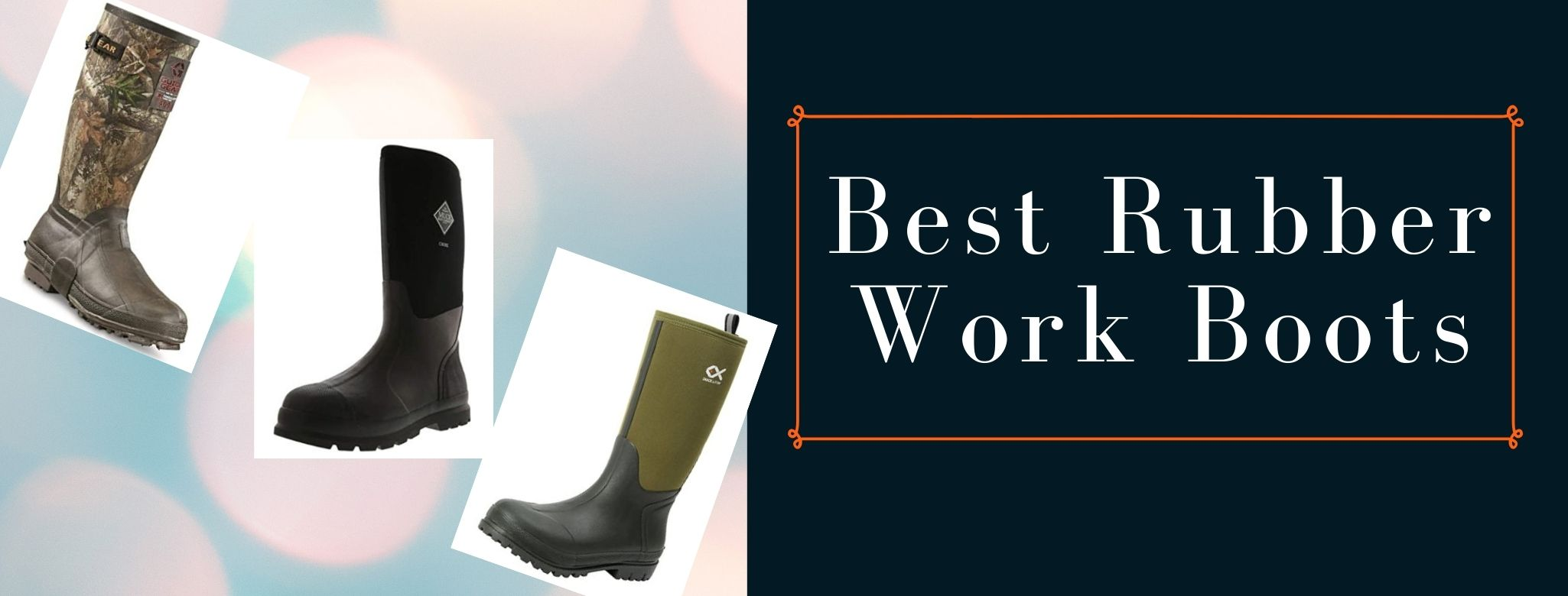 top rated rubber boots for snow and fishing